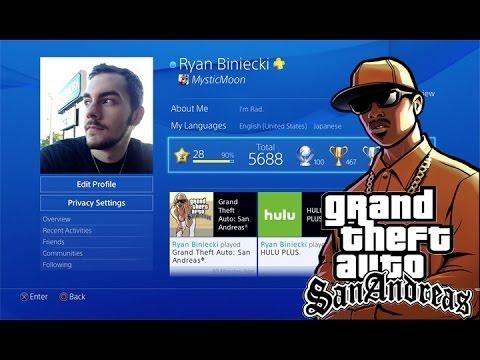100 Platinum Trophies! Grand Theft Auto: San Andreas - Beat The Cock Marathon