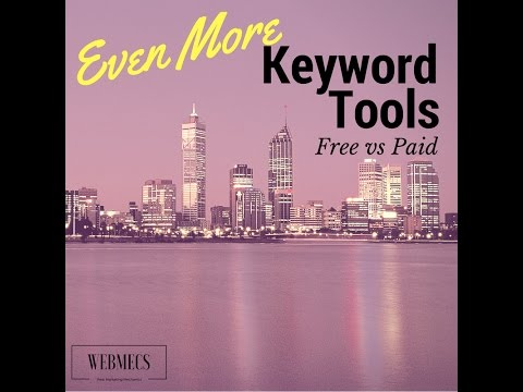 Alternative Keyword Research Tools Paid & Free Versions