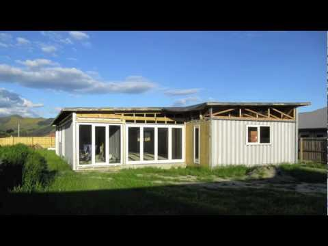 Kuziel Residence - Build of a shipping container house