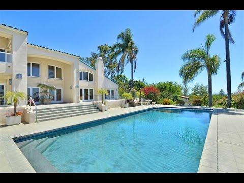 Serra Retreat Estate With Ocean Views In Malibu, California