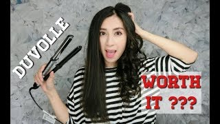 Is DUVOLLE Hair Straightener Worth Buying?  First Impression | Alexa Style Book