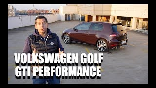 2017 Volkswagen Golf GTI Performance (ENG) - Test Drive and Review