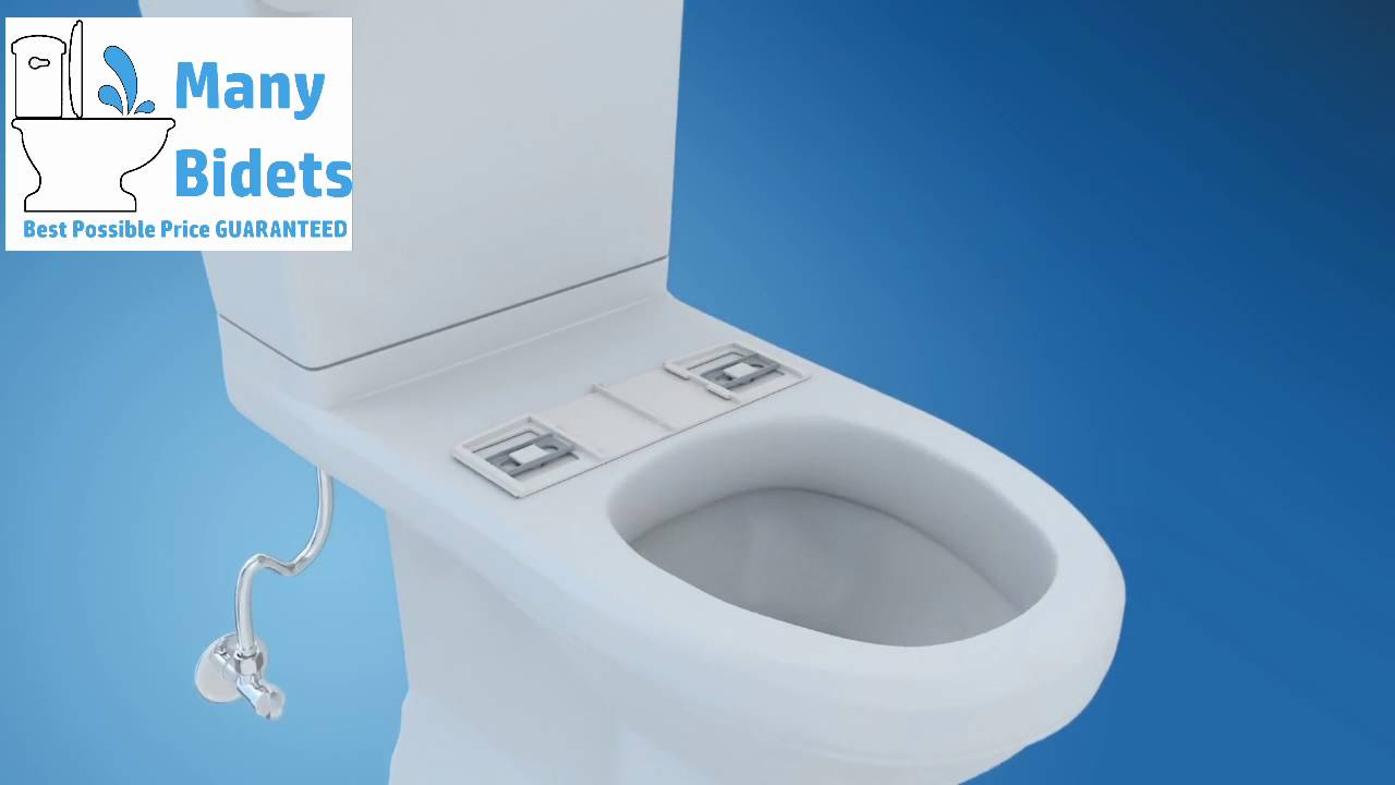 How to install a bidet seat - YouTube