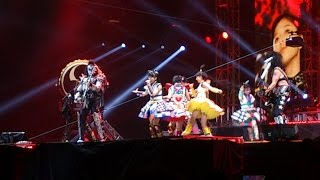 """""""Rock And Roll All Nite"""" by KISS with ももいろクローバーZ at Tokyo Dome on March 3, 2015"""