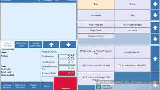 Emperium retail epos software - sales till processes