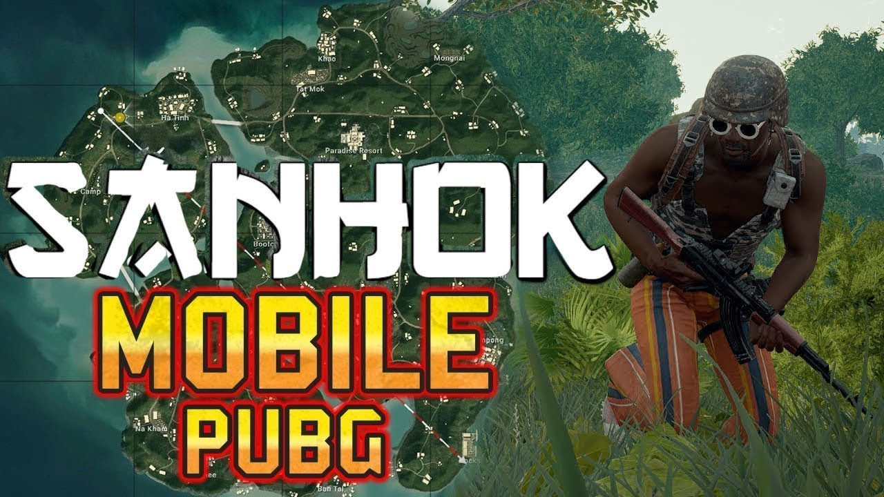 PUBG MOBILE SANHOK NEW MAP ANDROID/iOS GAMEPLAY(HD)