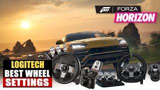 Logitech G27 Forza Horizon 4 Settings