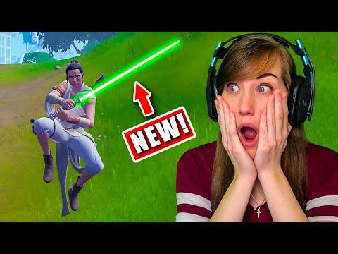 NEW Lightsabers in Fortnite! (Star Wars UPDATE)