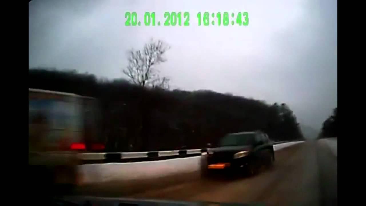 Аварии с видеорегистраторов жесть