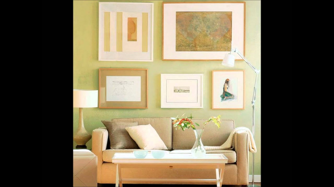 Hanging & Arranging Wall Art.wmv - YouTube