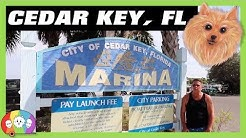 Tour of The Charming Little Island Town of Cedar Key, FL - Things to Do & See - RV Full Time Living