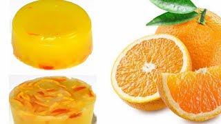Homemade Orange Soap / Orange peel Soap Making at Home / Natural homemade/Skin glowing soap at home