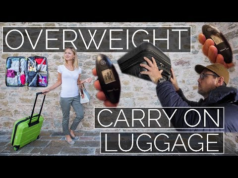 How To Travel With Overweight Carry On Luggage