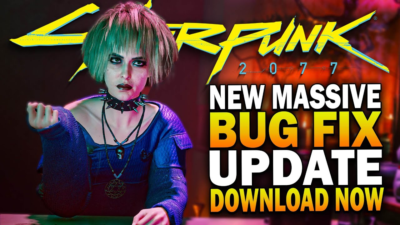 Cyberpunk 2077 Patch Update 12/19/2020