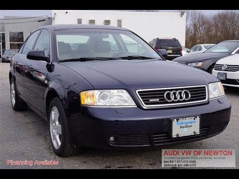 Audi A T C Quattro Vehicle Overview YouTube - 2000 audi a6