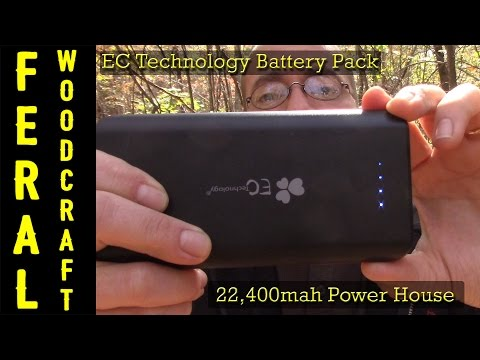 EC Technology 22,400mah Budget Friendly Battery Backup