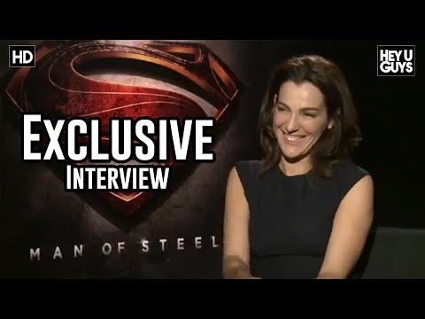 Ayelet Zurer Interview - Man of Steel