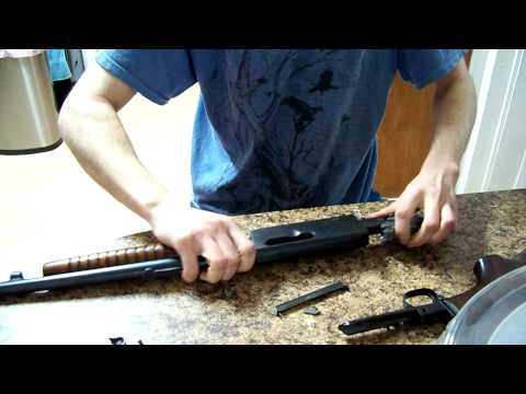 Field Stripping the Remington Model 14