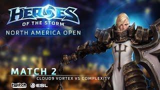 Cloud9 Vortex vs compLexity – North America June Open – Match 2