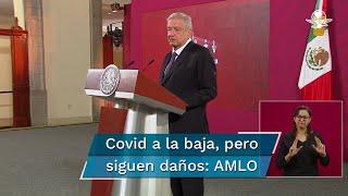 La Secretaría de Salud federal informó ayer que en México han fallecido 76 mil 603 personas a causa del nuevo coronavirus, mientras que 733 mil 717 han dado positivo a Covid-19