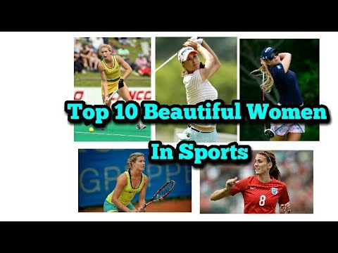 Top 10 most beautiful women in sports the world    by top on world