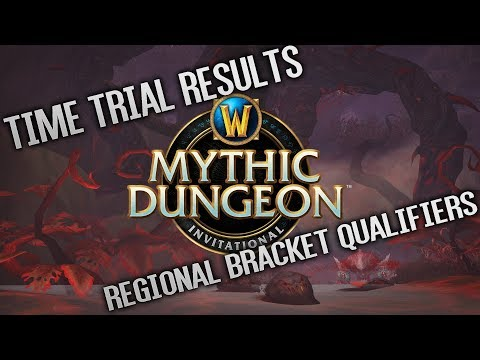 Mythic Dungeon Invitational - Time Trial Results and Regional Qualifiers