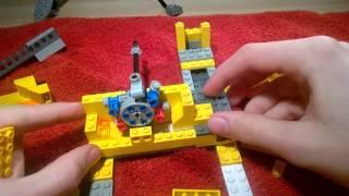 lego water pump tutorial