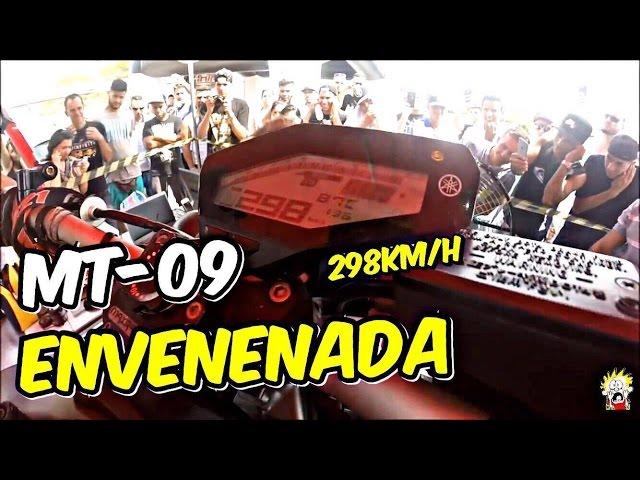 MT-09 À 298KM/H | PASSANDO MOTOS NO DINAMÔMETRO | OBRIGADO AOS 100K | CHAVÃO13