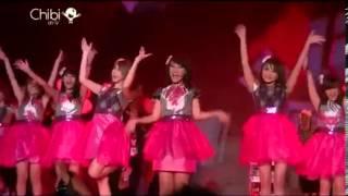 Cherrybelle - Birthday Kiss at Konser 2 tahun Cherrybelle Cari Cinta 270213