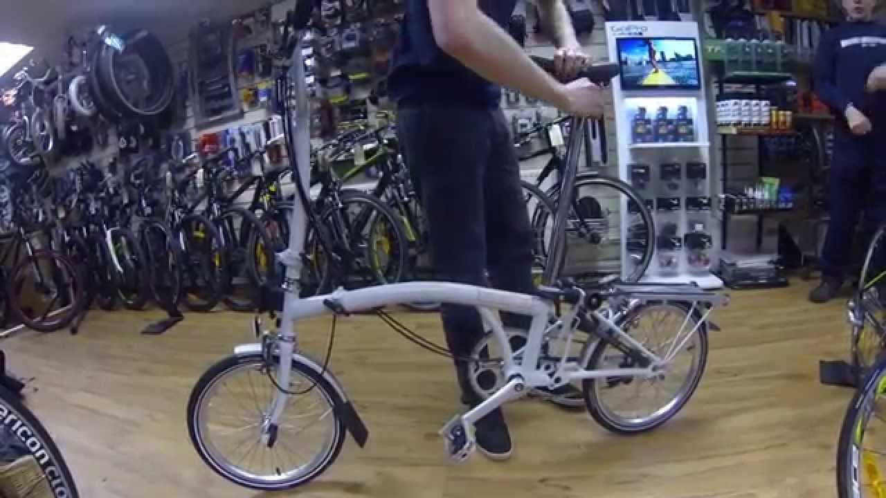 e7ee9dde4 2013 Brompton H6R - How To Fold (Damian Harris Cycles) - YouTube