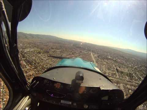 Bellanca Citabria POV Flying @ KRHV