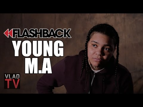 Flashback: Young M.A on Being Scared to...