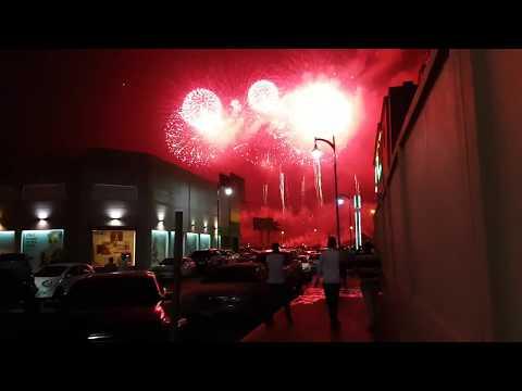 National Day Of Saudi Arabia 23 Sep 2017 Fireworks Al Khobar