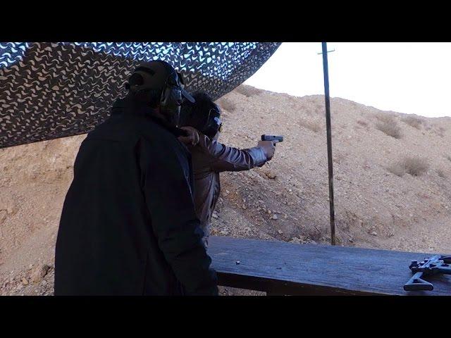 実弾射撃 グロック 17C 第4世代 (Glock 17C Gen4 Shooting)