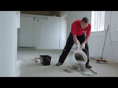 How To Repair A Hole In Concrete With A Pourable Compound