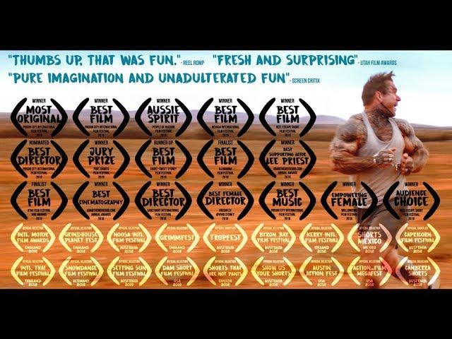 ROUND TRIP short Aussie action film (6mins) starring Lee Priest