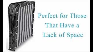Best Folding Guest Bed - Foldaway Memory Foam Guest Bed