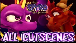 The Legend of Spyro: A New Beginning All Cutscenes | Full Game Movie (PS2, Gamecube, XBOX)