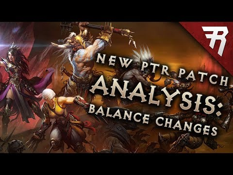 Massive Balance Changes to Best Builds: Diablo 3 2.6.1 Season 12 Patch Notes (PTR)