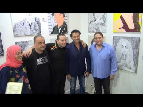 "Alfa organizes Ali Tlais's 7th exhibition ""Lebanese Icons"" at the Beirut Art Fair"