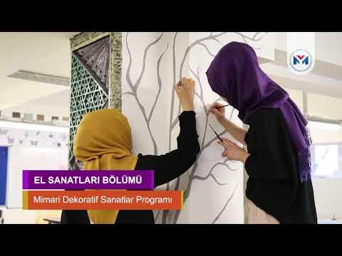 OMÜ Samsun Meslek Yüksekokulu, El Sanatları Bölümü, Mimari Dekoratif Sanatlar Programı