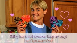 Woven Duct Tape Heart|Sophie