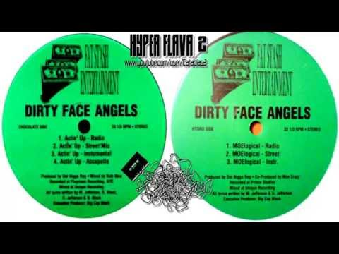 Dirty Face Angels ‎- Actin' Up / MOElogical (Full Vinyl, 12'') (1999)