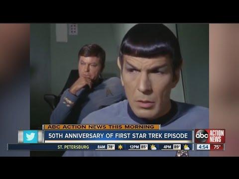 50th Anniversary of First Star Trek episode