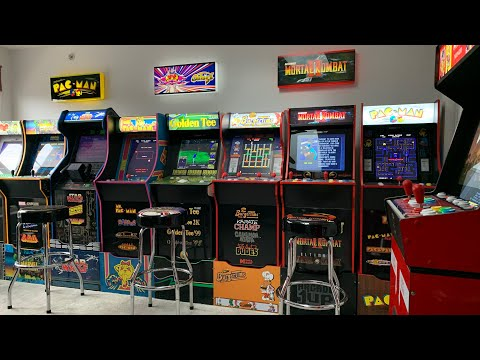 ARCADE1UP TOUR JAN 2021 - POST CES! The 3rd Floor Arcade from The 3rd Floor Arcade with Jason