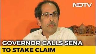 Shiv Sena Invited To Stake Claim In Maharashtra As BJP Refuses