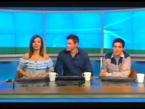 RI:SE (Morning Breakfast TV Show) on Channel 4 in 2003