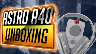 Astro A40 TR unboxing!!!!!!(w/ GullibleGaming)