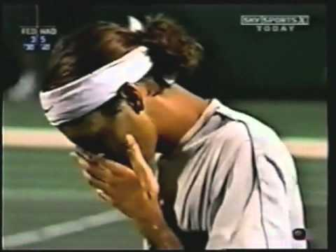 Roger Federer VS Rafael Nadal -- Miami 2004 Highlights