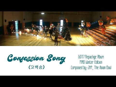 GOT7 - Confession Song Lyric (Han/Rom/Indo)